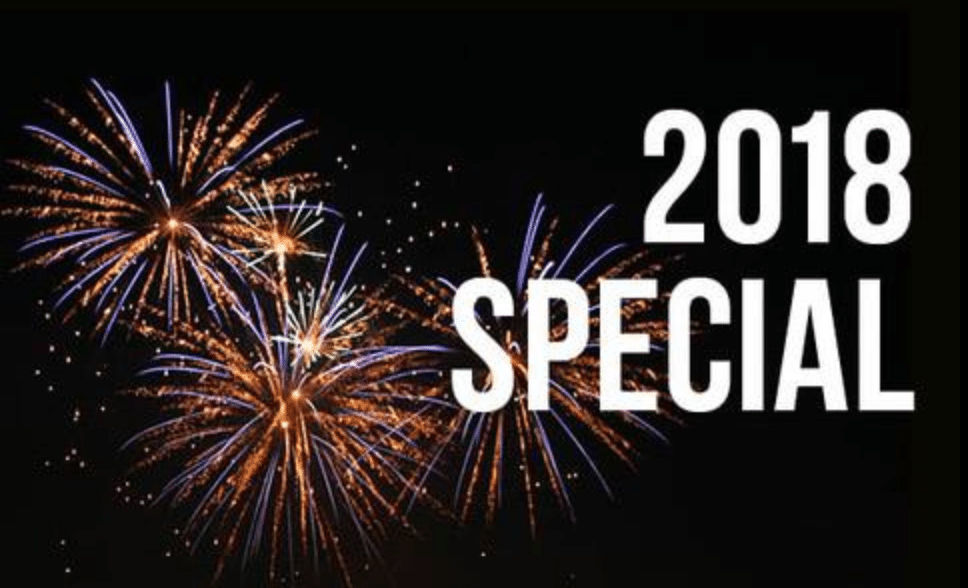 2018 New Years Membership Special!